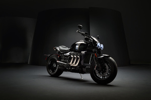 Triumph Rocket III TFC 2019 8k Wallpaper
