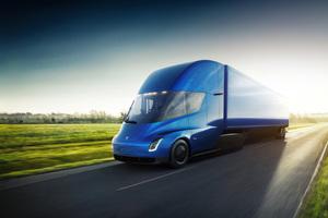 Truck By Tesla 4k Wallpaper