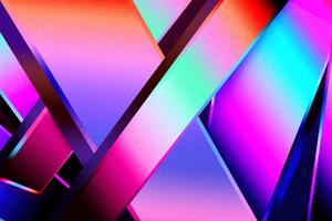 True Bright Colors Of Abstract