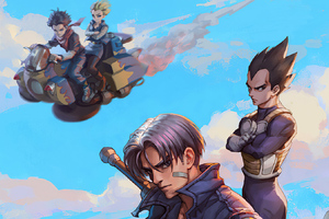 Trunks Wallpaper