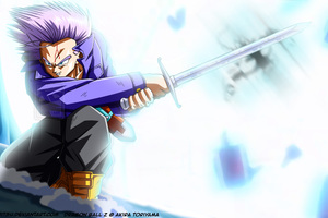 Trunks Dragon Ball Z 4k