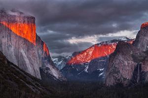 Tunnel View Yosemite 5k Wallpaper