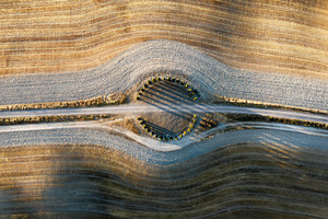 Tuscany Hills Sunrise 5k Wallpaper