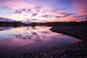 Twilight Reflections 2 Wallpaper
