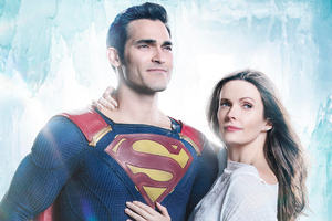 Tyler Hoechlin And Bitsie Tulloch In Supergirl