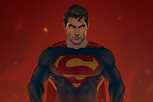 Tyler Hoechlin Superman Art