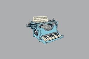 Typewriter Minimalism