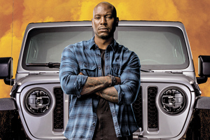 Tyrese Gibson As Roman Pearce In Fast 9