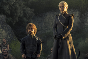 Tyrion Lannister And Daenerys Targaryen Game Of Thrones 4k