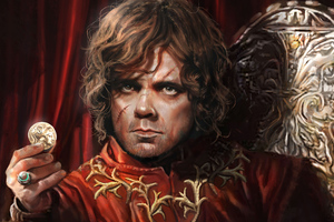 Tyrion Lannister Digital Arts 8k
