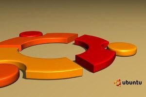 Ubuntu 3d Logo Wallpaper