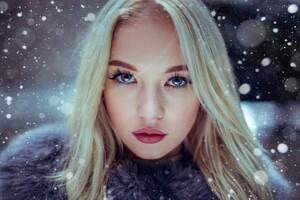 Uliana Verenchikova Blue Eyes