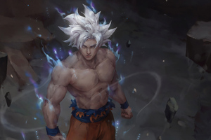 Ultra Instinct Goku Art 4k