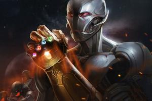 Ultron Infinity Gauntlet 4k