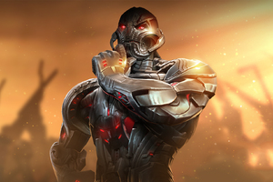 Ultron Marvel Contest Of Champions Wallpaper