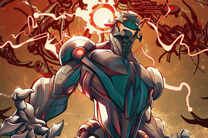 Ultron Ravensburger Marvel Villainous Infinite Power Strategy Board Game