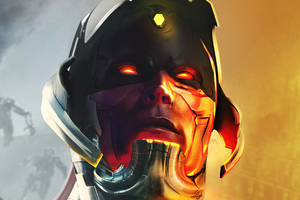 Ultron What If 4k Wallpaper