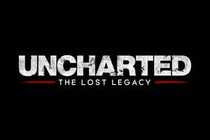 Uncharted The Lost Legacy Logo 4k Wallpaper