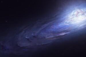 Universe Nebula Space Art Science Fiction 4k