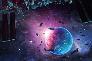 Unknown Planet 4k