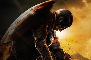 Unworthy Captain America 4k Wallpaper