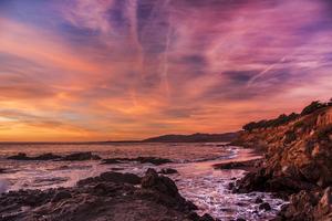 Usa Coast Sunrise Waves 5k Wallpaper