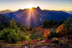 USA Mountains Wallpaper