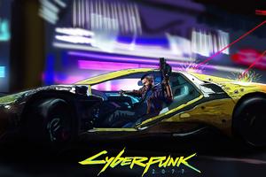 V Cyberpunk 2077 4k Game