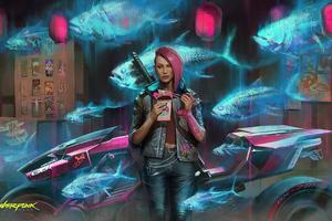 V Cyberpunk 2077 Game