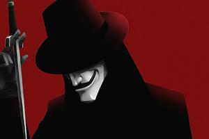 V For Vendetta In Love 4k