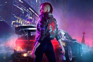 V In Cyberpunk 2077 New