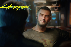 V In Cyberpunk 2077 Ready Wallpaper