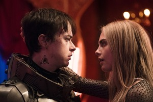 Valerian And Laureline In Valerian And The City Of A Thousand Planets Movie