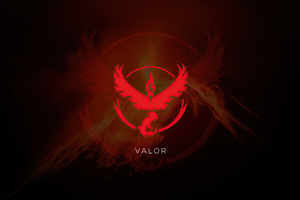 Valor Pokemon Go 5k Wallpaper