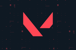 Valorant Game Logo 4k Wallpaper