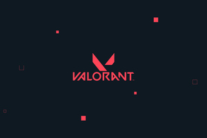 Valorant Logo 4k Wallpaper