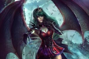 Vampire Princess Wallpaper