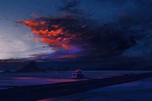 Van Ride Under The Sky 4k