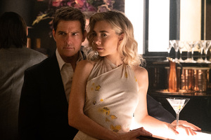 Vanessa Kirby And Tom Cruise In Mission Impossible Fallout Movie