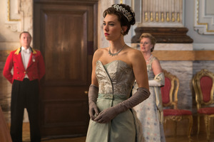 Vanessa Kirby In The Crown Tv Show
