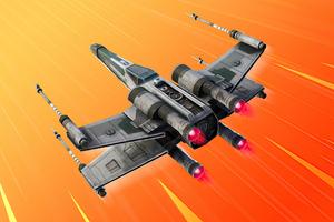 Vanguard Squadron X Wing Glider Fortnite