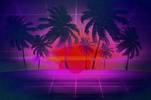 Vaporwave Digital Art 4k