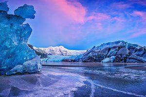 Vatna Glacier Wallpaper