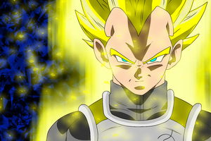 Vegeta Dragon Ball Super 8k