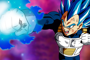 Vegetta Puno Destructor Dragon Ball Super 5k