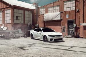 Velgen KC Wide Dodge Hellcat Widebody 8k Wallpaper