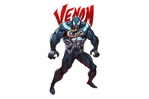 Venom 2020 Art 4k Wallpaper
