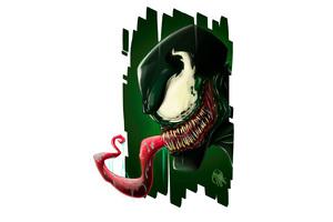 Venom 4k Art Wallpaper