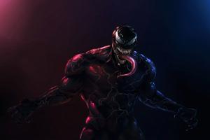 Venom 4k Danger Wallpaper