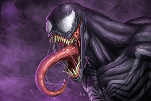 Venom 4k Digital Artworks